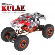 Радиоуправляемый джип-краулер HSP Kulak 4WD 1:18 (94680T2 electric off-road rock crawler) - 30 см